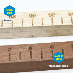 Meranti And Massaranduba Wooden Dip Sticks