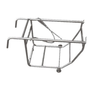 drum decanting trolley
