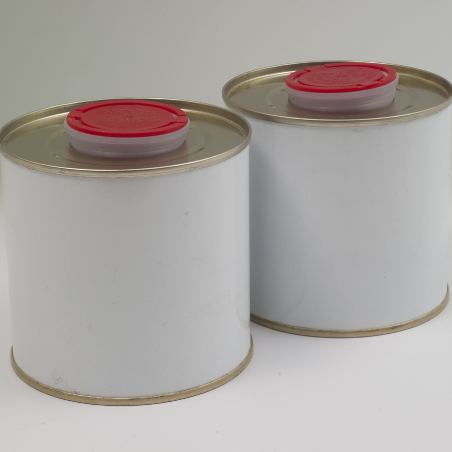 metal sample tins