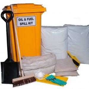 240L Wheelie Bin Unbranded Spill Kit