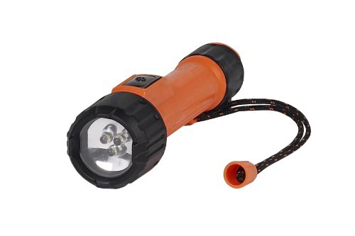 Orange And Black Intrinsically Safe Torch